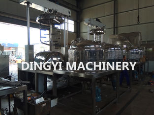 Ointment Vacuum Planetary Mixer High Speed Vacuum Emulsifier SS316L Material
