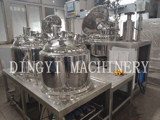Stainless Steel Vacuum Emulsifying Mixer For Pharmaceuticals , Cosmetic
